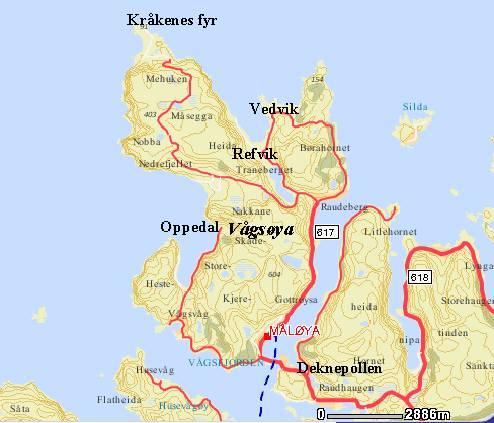 kart vågsøy Stryn kommune. Oversikt kart vågsøy