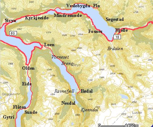 kart over stryn Stryn kommune. Oversikt kart over stryn