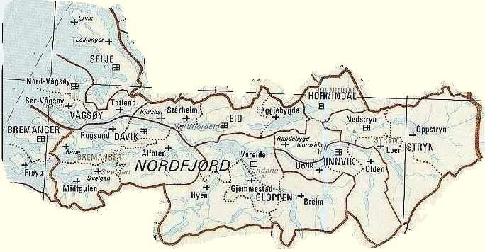 kart hornindal Bygdeskildring kart hornindal